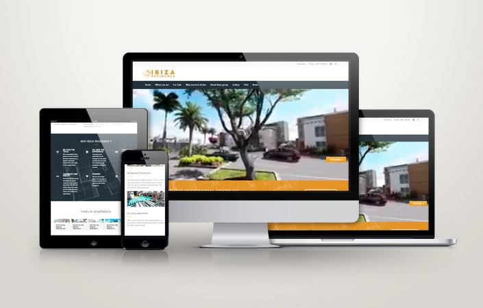 professional website design aruba real estate ibiza