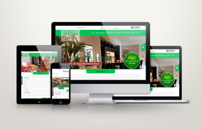 Spa website Design Agency Aruba